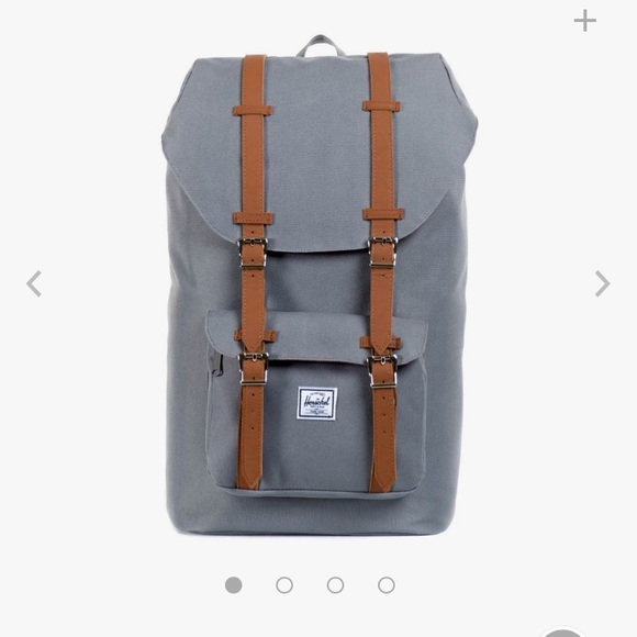 Herschel Supply Company Handbags - Herschel Little America Grey and Tan  Backpack d4fdae7f51876